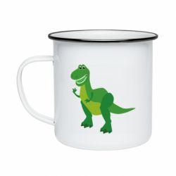 Кружка эмалированная Dino toy story