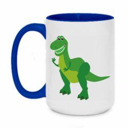 Кружка двухцветная 420ml Dino toy story