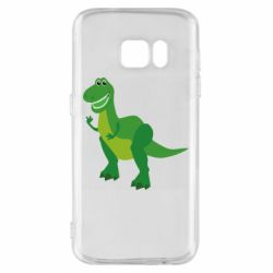Чехол для Samsung S7 Dino toy story