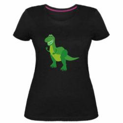 Женская стрейчевая футболка Dino toy story