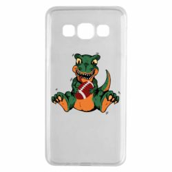 Чехол для Samsung A3 2015 Dinosaur and ball