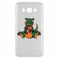 Чехол для Samsung J5 2016 Dinosaur and ball