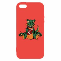 Чехол для iPhone5/5S/SE Dinosaur and ball