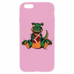Чехол для iPhone 6/6S Dinosaur and ball