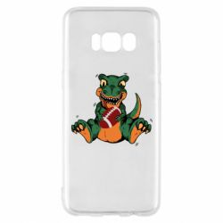 Чехол для Samsung S8 Dinosaur and ball
