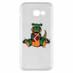Чехол для Samsung A5 2017 Dinosaur and ball