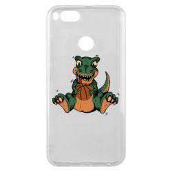 Чехол для Xiaomi Mi A1 Dinosaur and basketball