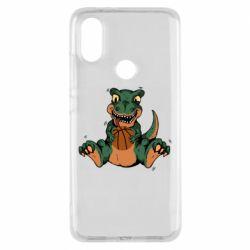 Чехол для Xiaomi Mi A2 Dinosaur and basketball