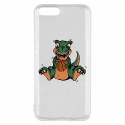 Чехол для Xiaomi Mi6 Dinosaur and basketball