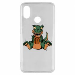 Чехол для Xiaomi Mi8 Dinosaur and basketball