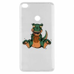 Чехол для Xiaomi Mi Max 2 Dinosaur and basketball