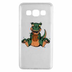 Чехол для Samsung A3 2015 Dinosaur and basketball