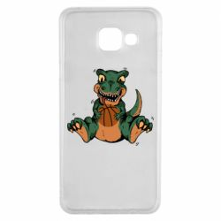 Чехол для Samsung A3 2016 Dinosaur and basketball