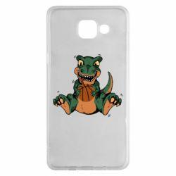 Чехол для Samsung A5 2016 Dinosaur and basketball