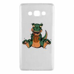 Чехол для Samsung A7 2015 Dinosaur and basketball