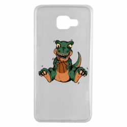 Чехол для Samsung A7 2016 Dinosaur and basketball