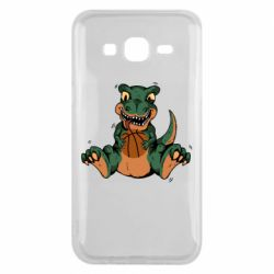Чехол для Samsung J5 2015 Dinosaur and basketball