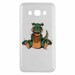Чехол для Samsung J5 2016 Dinosaur and basketball