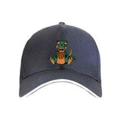 Кепка Dinosaur and basketball
