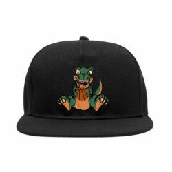 Снепбек Dinosaur and basketball
