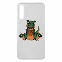 Чехол для Samsung A7 2018 Dinosaur and basketball