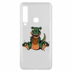 Чехол для Samsung A9 2018 Dinosaur and basketball