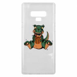 Чехол для Samsung Note 9 Dinosaur and basketball