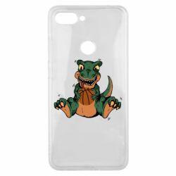 Чехол для Xiaomi Mi8 Lite Dinosaur and basketball