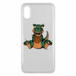 Чехол для Xiaomi Mi8 Pro Dinosaur and basketball