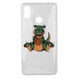 Чехол для Xiaomi Mi Max 3 Dinosaur and b