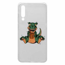 Чехол для Xiaomi Mi9 Dinosaur and basketball