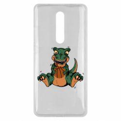 Чехол для Xiaomi Mi9T Dinosaur and basketball