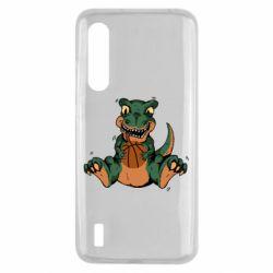 Чехол для Xiaomi Mi9 Lite Dinosaur and basketball