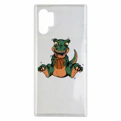 Чехол для Samsung Note 10 Plus Dinosaur and basketball