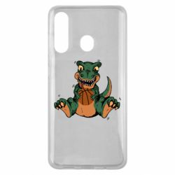 Чехол для Samsung M40 Dinosaur and basketball