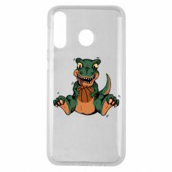 Чехол для Samsung M30 Dinosaur and basketball