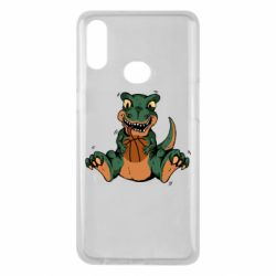 Чехол для Samsung A10s Dinosaur and basketball