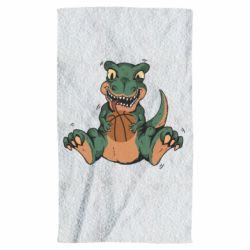 Полотенце Dinosaur and basketball