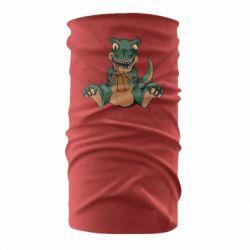 Бандана-труба Dinosaur and basketball