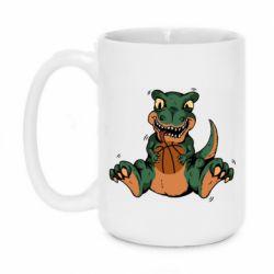 Кружка 420ml Dinosaur and basketball