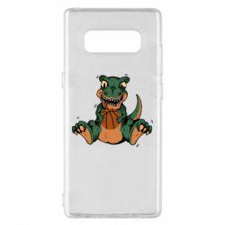 Чехол для Samsung Note 8 Dinosaur and basketball