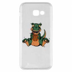 Чехол для Samsung A5 2017 Dinosaur and basketball