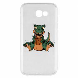 Чехол для Samsung A7 2017 Dinosaur and basketball