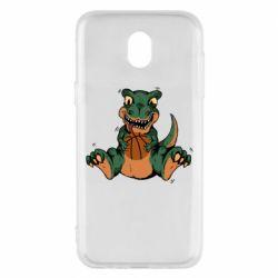 Чехол для Samsung J5 2017 Dinosaur and basketball