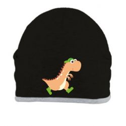 Шапка Dinosaur in green shoes