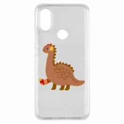 Чехол для Xiaomi Mi A2 Dinosaur in sock