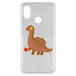 Чехол для Xiaomi Mi8 Dinosaur in sock