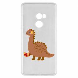 Чехол для Xiaomi Mi Mix 2 Dinosaur in sock