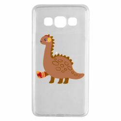 Чехол для Samsung A3 2015 Dinosaur in sock