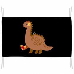 Флаг Dinosaur in sock